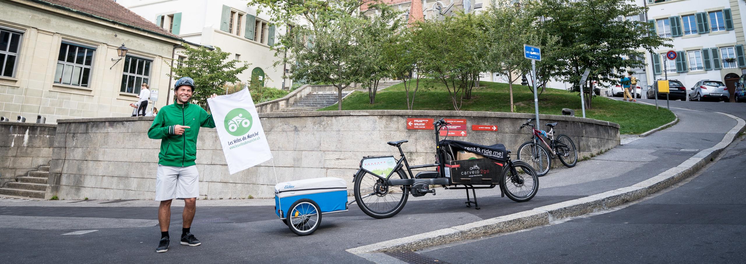 Du monde de la finance à la livraison à vélo, le saut dans le vide de Thierry.